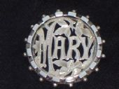 VICTORIAN NAME BROOCHES AND LATER NAME PINS     A good choice here   CLICK TO BROWSE